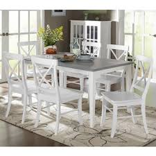 room simple dining sets:  dining room simple living  piece helena dining set white round kitchen table set and