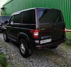 <b>накладка задней двери</b> на место запаски — УАЗ Patriot, 2.7 л ...
