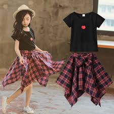 <b>Toddler Girl</b> Clothes <b>2019 Summer Girls</b> Boutique Outfits Teenage ...