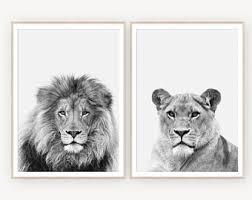 <b>Lion art</b> | Etsy