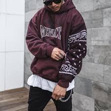 <b>Men's casual fashion printed</b> hooded sweater TT228 - woolall.com