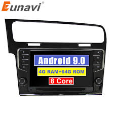 <b>Eunavi 2 Din 8</b>'' Android 9.0 Car dvd Player For VW/POLO/PASSAT ...