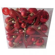 <b>Набор</b> елочных <b>шаров Новогодняя сказка</b> 50 шт красный 973653