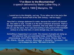 """「1968, martin luther king jr """"I've Been to the Mountaintop""""」の画像検索結果"""