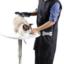 Sleeveless Anti Static Pet <b>Beautician Work Clothes Apron</b> For Dog ...