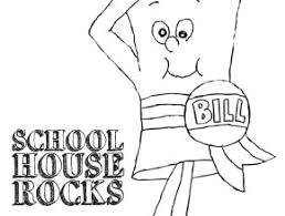 Small Picture Schoolhouse Rock Coloring Pages Free Coloring Page Today