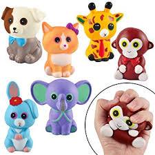 JOYIN 6 Pack Jumbo Size <b>Squishy</b> Animal <b>Toy Slow Rising Stress</b> ...