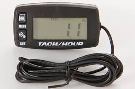 Contempo Views Tach/Hour Meter HM032R: <b>Backlight LCD</b> ...