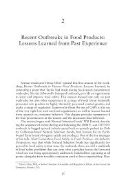 recent outbreaks in food products lessons learned from past page 15