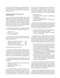 chapter two literature review strategic planning and page 7