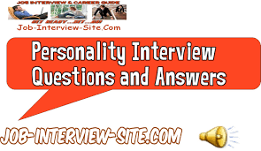 job interview personality questions livmoore tk job interview personality questions