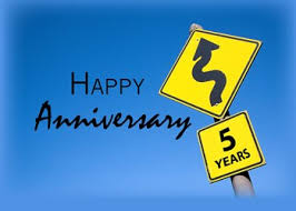 Image result for five year anniversary