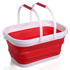 JingchenPretty <b>High</b> Elasticity Silica gel Fishing Bucket <b>Portable</b> ...