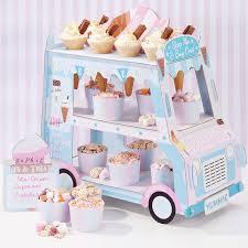 <b>Ice Cream</b> Van Stand <b>Cars</b> Display Stand For Cupcakes Candy ...