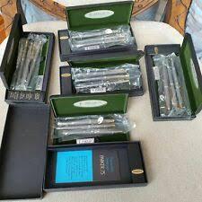 Серебряные коллекционные <b>ручки</b> и письменные принадлежности
