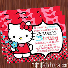 birthday invitation archives mimi s dollhouse hello kitty invitation red