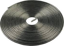 <b>Припой с канифолью</b> ПОС-61 (1 мм; спираль; 1 метр) REXANT 09 ...