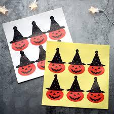 10 листов, милые <b>наклейки</b> на Хэллоуин, тыква, <b>детские</b> ...