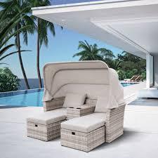 <b>Комплект мебели из искусственного</b> ротанга AFM-330G Grey ...