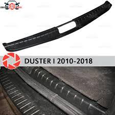<b>Накладка на порог багажника</b> для Renault Duster 2010-2018 ...