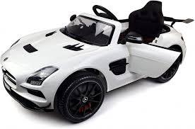 <b>Электромобиль</b> Mercedes-Benz SLS AMG White - SX128-S купить ...