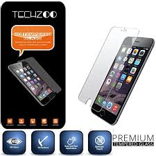 techzoo 033 3d touch tempered glass screen protector for iphone 6 6s glass amazoncom tempered glass