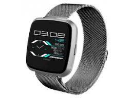<b>Умные часы NO.1 G12</b> серебро, ремешок сталь купить в ...