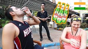My First Reaction to Kingfisher <b>Beer</b> | <b>We</b> got <b>Drunk</b> with Cashew ...