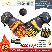 2020 <b>New</b> 7.4V 4000MAH <b>Electric</b> Rechargeable <b>Heat Gloves</b> Ski ...