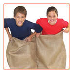 Sack race for Kids