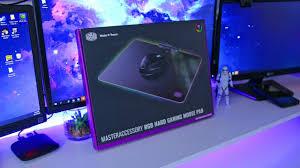 <b>Cooler Master MasterAccessory</b> RGB Hard <b>Gaming</b> Mousepad Review