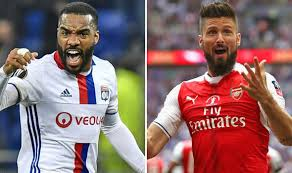 Image result for LACAZETTE and giroud