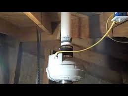 Radon System Attic Installation - YouTube