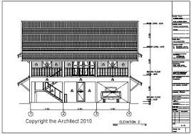 Finished Construction   Retiring In ThailandImage of Thai House Plan Pakchong End Elevation A