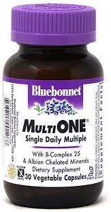 Bluebonnet Nutrition Multi One (with Iron) Vegetable ... - Amazon.com