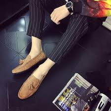 <b>Peas shoes men's autumn</b> new men's casual peas shoes matte retro ...