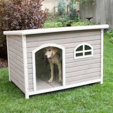 images about Dog House ideas on Pinterest   Dog Houses    Spotty XL Insulated Flat Roof Dog House   Heater  Tucker Abode