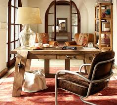 view in gallery bench style office desks from pottery barn small barn office furniture