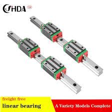 <b>free shipping 2pcs linear</b> rail + 4pcs HGH20CA <b>linear</b> guide rails ...