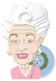 Ann Richards (Illustration by Ken Ellis/Houston Chronicle. Check out the pin on her lapel.) * Please see clarification from author Jan Reid below this ... - AnnRichards