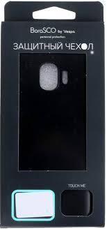 Купить <b>Чехол BoraSCO</b> Mate <b>Huawei</b> Honor 8C черный ...