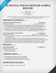 ideas about police officer resume on pinterest   resume    police officer resume