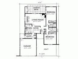 Sante Fe House Plan   Square Feet and Bedrooms from    Level