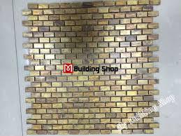 kitchen backsplash stainless steel tiles: brick metal mosaic kitchen backsplash tiles smmt antiqued copper stainless steel mosaic tiles bathroom