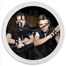 <b>Часы круглые из</b> пластика johnyboy #337775 от artem34