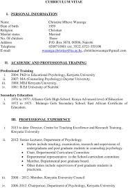 curriculum vitae christine mbuve wasanga date of birth pdf 2004 phd in educational psychology tta university ii 2007 ma counseling