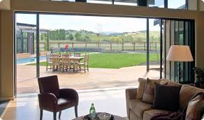 large sliding patio doors: