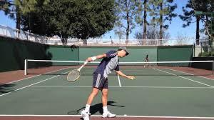 Wooden Racquet Demo: Wilson Jack Kramer Pro Staff - YouTube