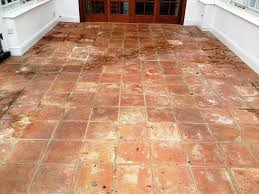 Terracotta Kitchen Floor Tiles Terracotta Tile Oxfordshire Tile Doctor