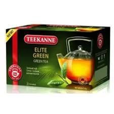 <b>Чай TEEKANNE</b> Элит <b>Green зеленый</b> 20 пак.